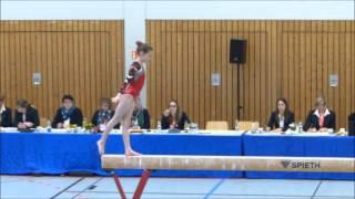 Turnen, Stella Neufeld, Deutsche Jugendmeisterschaften, Heidelberg 2016