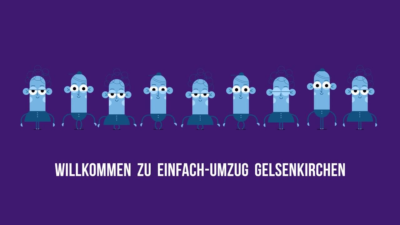 Einfach Umzugsunternehmen Gelsenkirchen | 0221 98886258