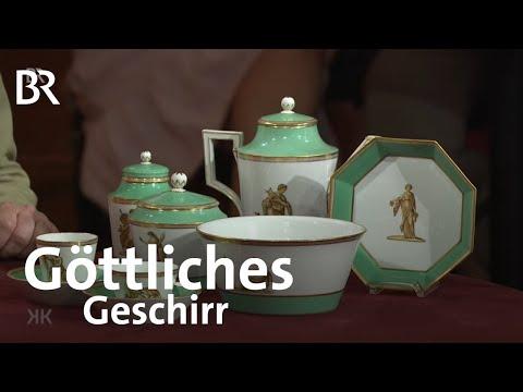 """göttliches-geschirr:-""""grünes-service""""- -kunst-+-krempel"""