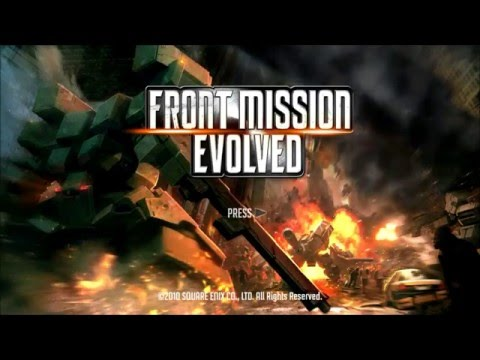 Front Mission Evolved HD | Intro Cinematic