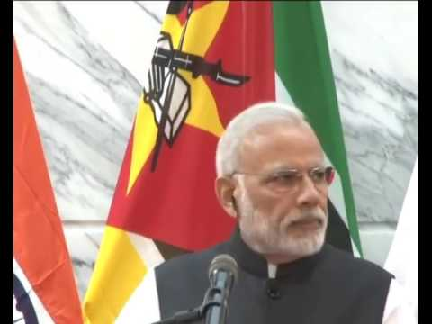 Speaking by PM in Mozambique  Signing of agreements & Press Statements