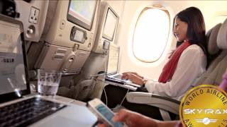 Top 10 Airlines - World's Best Economy Class airlines 2015 by Skytrax - the top 10