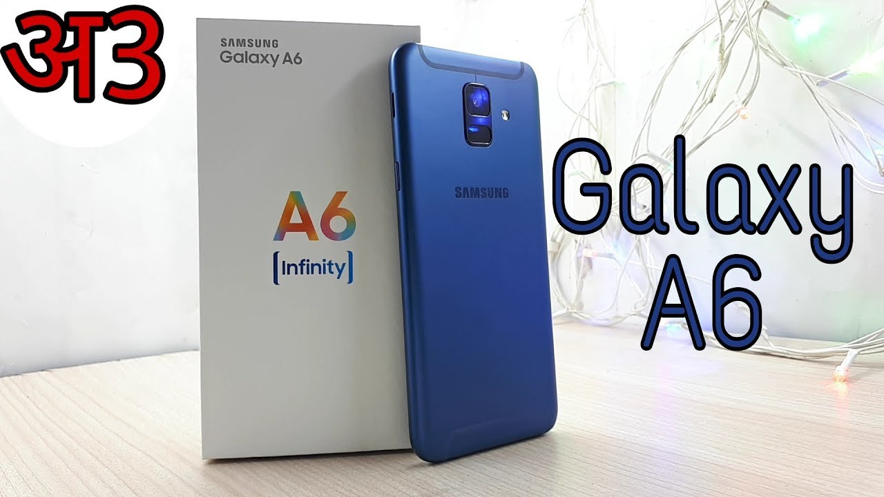 Galaxy A6 2018 Blue Unboxing Youtube