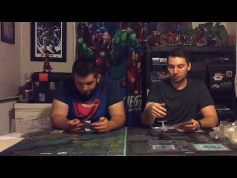 Heroclix unboxing DC invisible plane op kit