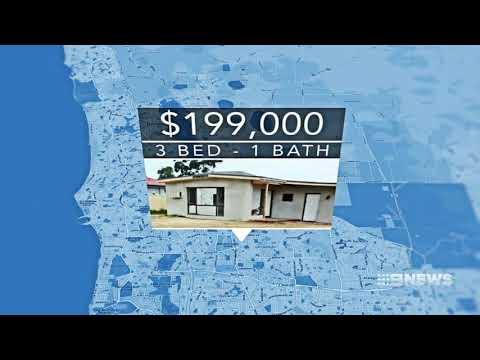 Cheap Housing | 9 News Perth