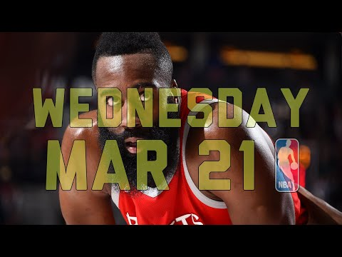 NBA Daily Show: Mar. 21 - The Starters