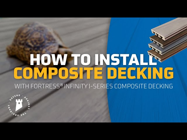 Fortress Building Products I Series installation