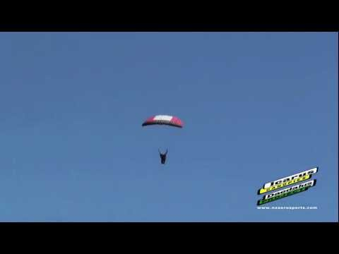 Long Distance Swooping World Record by Nick Batsch | www.iLoveSkydiving.org