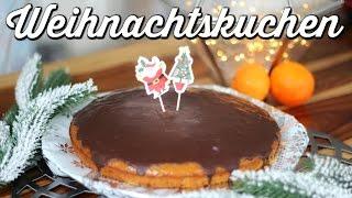 Weihnachtlicher Kuchen VEGAN |#yummypilgrim