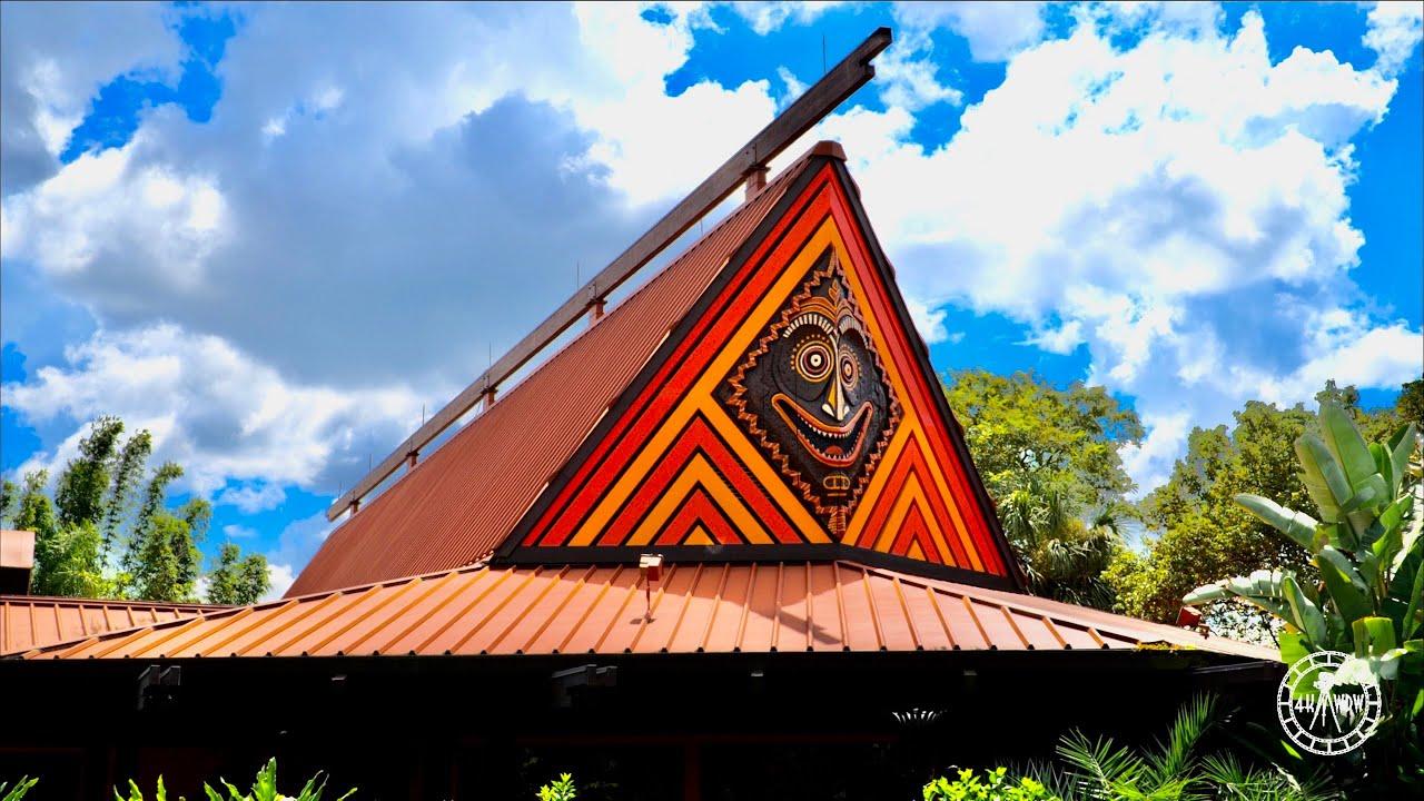 Disney's Polynesian Village Resort 2021 Tour & Walkthrough in 4K   Walt Disney World Magic Kingdom