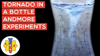 How To Make A Tornado In A Bottle | Amazing Science Experiments You Can Do At Home | Lab 360