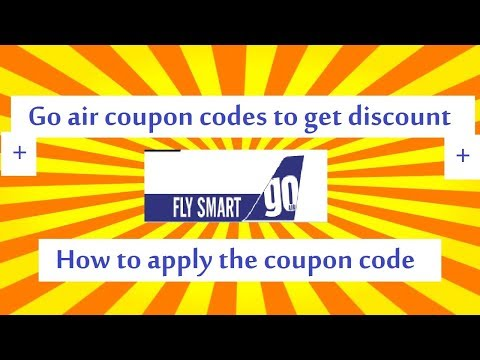 Go Air Coupon Code To Get Disocunt For Your Flight