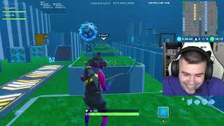 101 LEVEL BOT DEATHRUN à FORTNITE!