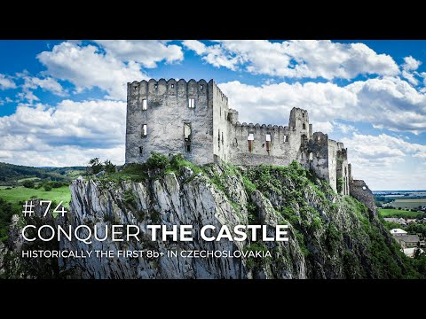 Adam Ondra #74: Conquer the Castle / Historically the First 8b+ in Czechoslovakia