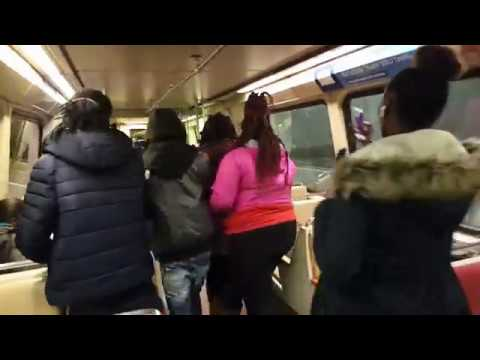 Metrorail Fight on Potomac Ave