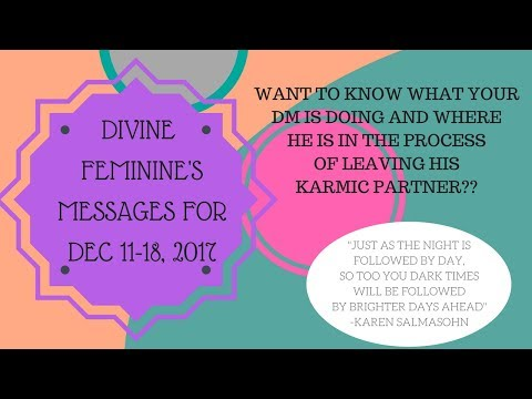 DIVINE MASCULINE AND HIS KARMIC PARTNER...WHAT IS HE GONNA DO? MESSAGES FOR THE DF