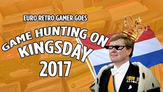 Kingsday / Koningsdag video game Hunting 2017 - country-wide flea market in the Netherlands