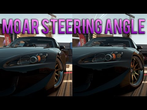 Forza Horizon 2   How to get more angle/steering lock