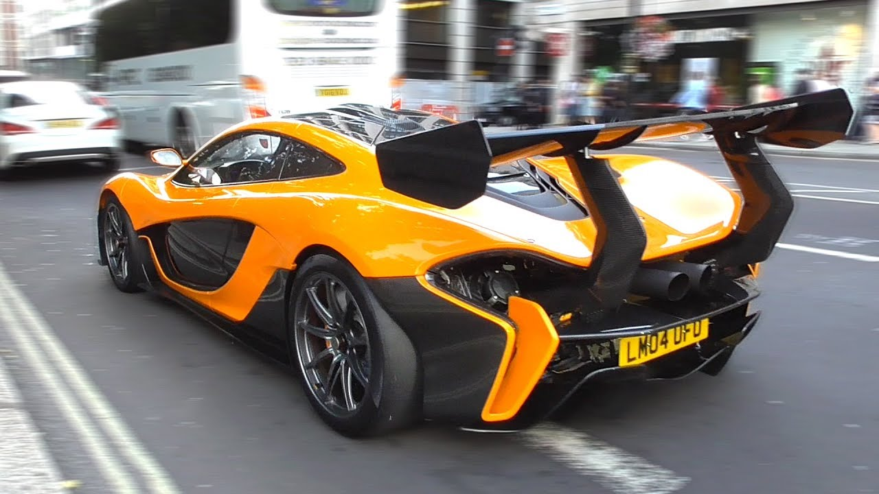 Mclaren P1 Lm >> 3 6million Mclaren P1 Lm Track Monster On The Road In London