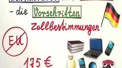 Einfuhrzoll nach Deutschland berechnen