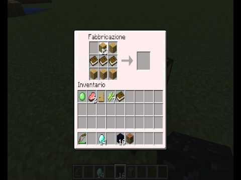 Crafting Carta Minecraft