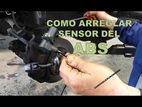 Como arreglar sensor del ABS Chevrolet Kalos - YouTube
