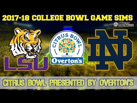 2018 CITRUS BOWL Presented by Overton