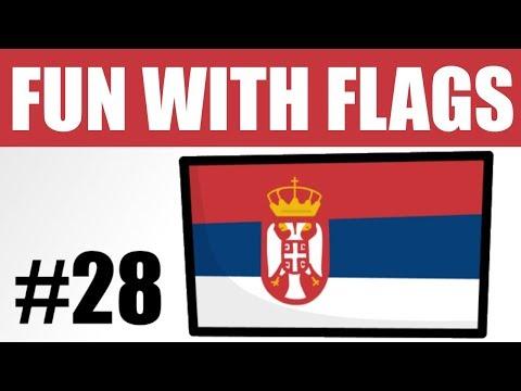 Fun With Flags #28 - Serbia