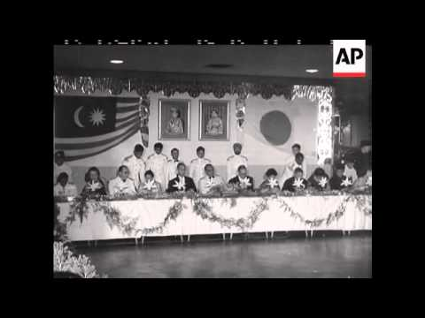 Download JAPANESE PRIME MINISTER IN MALAYA - SOUND