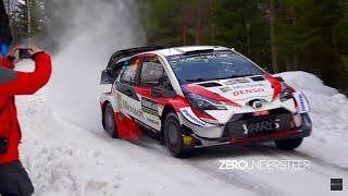 Rally Sweden 2019 | Shakedown Jumps & Flat-out
