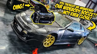 You Thought We ABANDONED Our Widebody Nissan 300ZX...And You Were WRONG (HUGE UPDATE)
