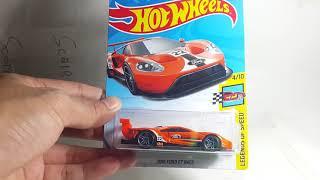 Review Hotwheels 2016 Ford GT Race Orange - Scaretoys