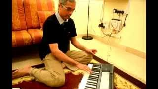 Yamaha F50 keyboard - Part 1 - Transpose Function (Scale Changer)