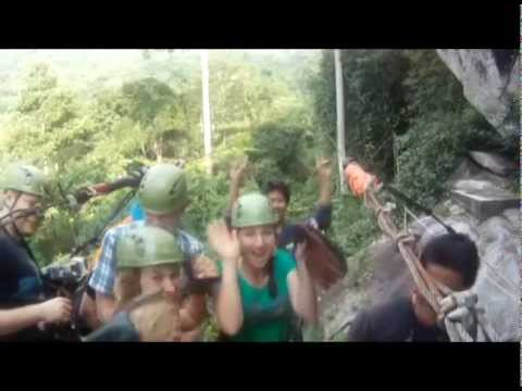 Flying People Thailand - Cable Ride Highlights - Teaser Trailer by Cable Rides Asia