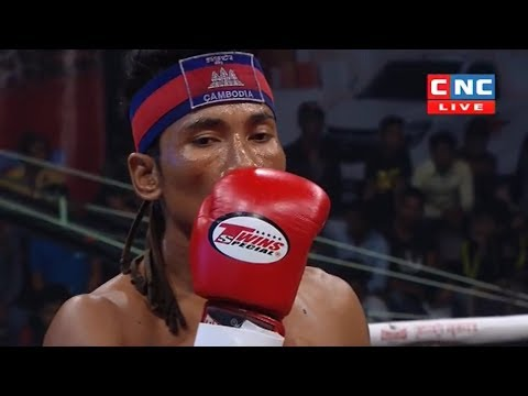 Prum Somnang vs Khorngfak(thai), Khmer Boxing CNC 13 May 2018, Kun Khmer vs Muay Thai