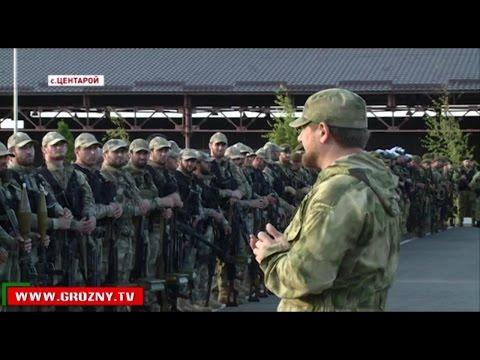 Рамзан Кадыров поднял