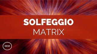 Solfeggio Matrix: 432 Hz + All 9 Solfeggio Frequencies - Binaural Beats - Meditation Music #9584