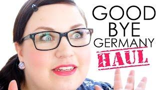 HAUL // Good Bye Deutschland - good buy, Magi! | 1. Drogerieeinkauf im Ausland