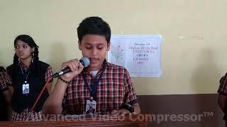 A Poem By Abhishek S Babu -CLASS VI - CBSE TVM Region School-SSCS(06547), PPLA