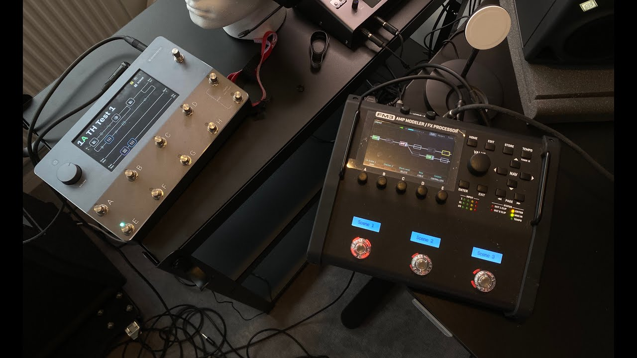 Download Dialing My Live Tone - Fractal FM3 or Neural Quad Cortex ?