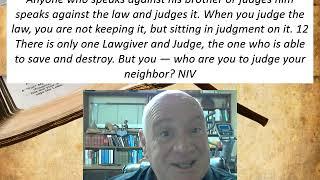 Lesson 21  James 4:11-12  December 15, 2020