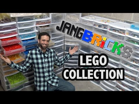 JANGBRiCKS LEGO Parts Collection Tour 2018