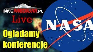 Oglądamy konferencję NASA! Czy księżyce Jowisza skrywają pozaziemskie życie? - Na żywo