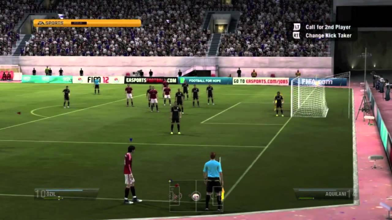 FIFA 12 Gameplay - Real Madrid vs. AC Milan (Full Game + Launch Impressions) - YouTube