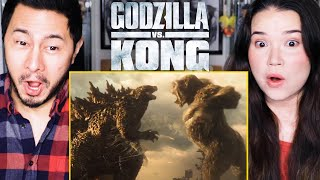GODZILLA vs. KONG | Trailer Reaction by Jaby Koay & Achara Kirk!