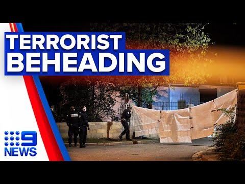 Paris teacher beheaded in gruesome terrorist attack | 9 News Australia