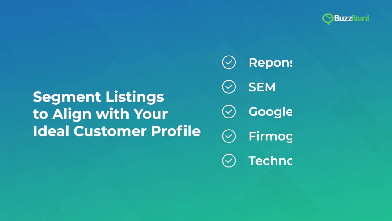 Segment Listings to Align with your Ideal Customer Profile