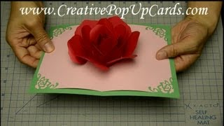 Rose Pop Up Card for Mother