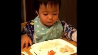 輝星、夕食時はいつもこんな感じ 輝星あすか 検索動画 14