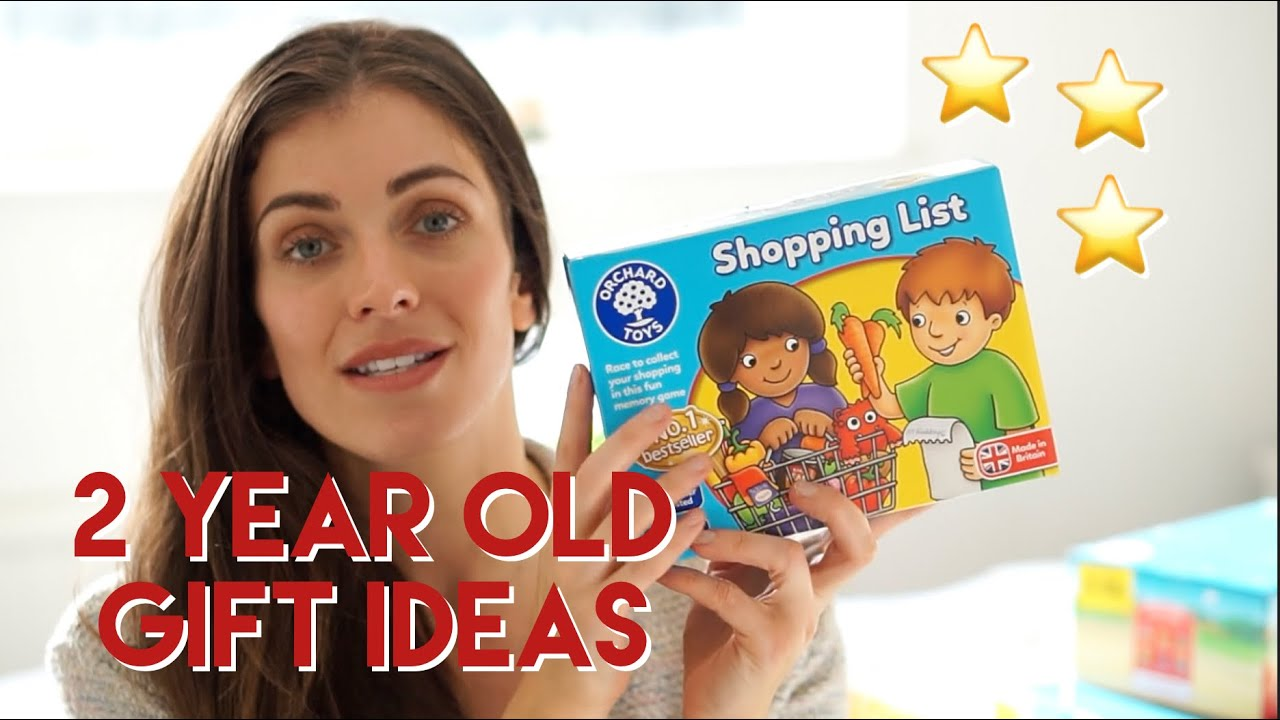 2 YEAR OLD CHRISTMAS GIFT IDEAS